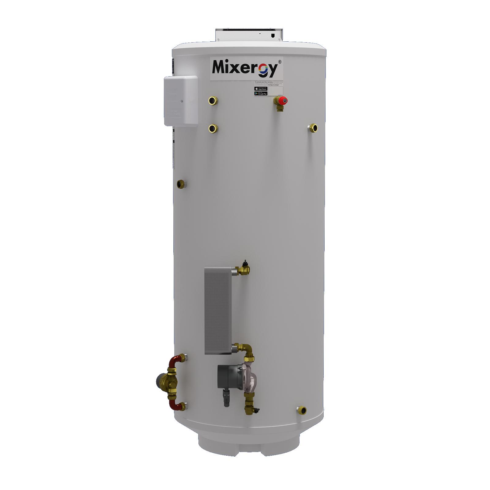 Mixergy Indirect with Heat Pump